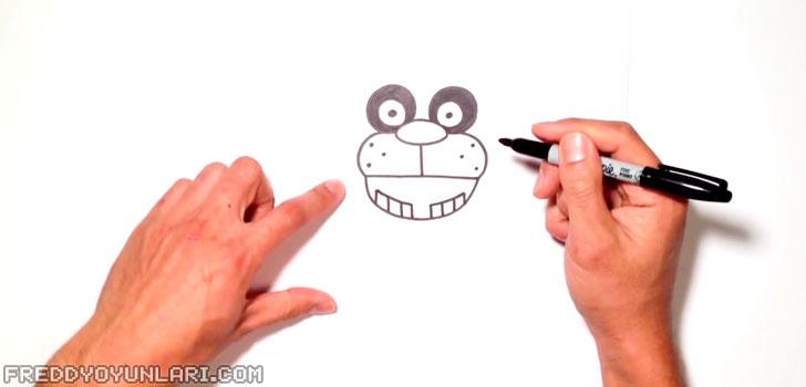 Yanaklar, ağız ve dişleri Five Nights at Freddy's kahramanı