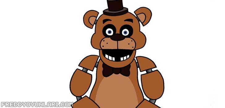 Freddy Fazbear renklendirme
