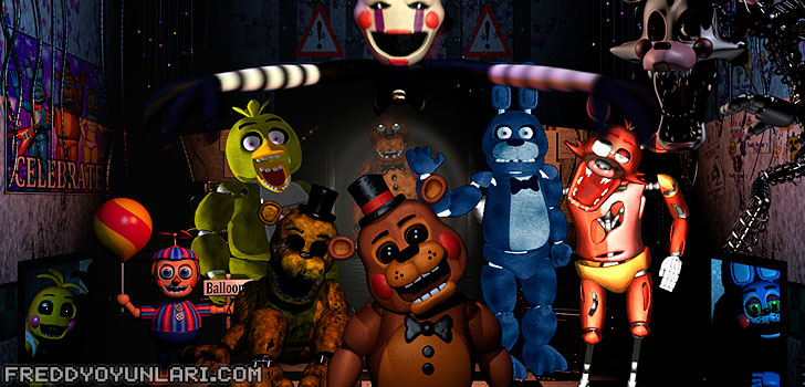 Five Nights at Freddy's fotoğrafları
