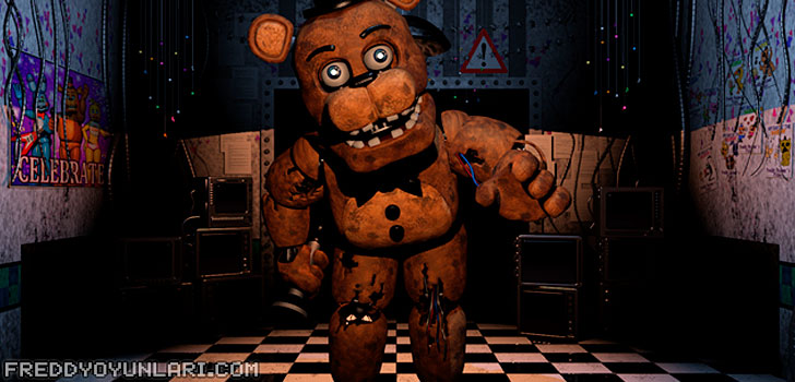 Freddy Fazbear'dan Five Nights at Freddy's 2